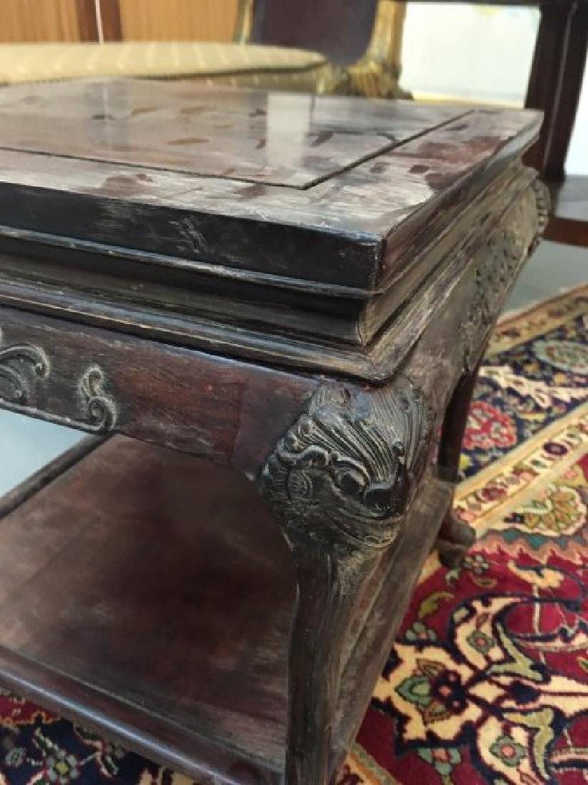 Chinese Square Side Table - 2