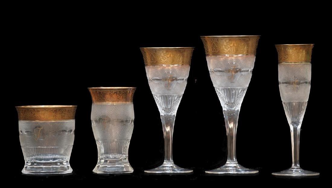 Moser Splendid Crystal Glasses Set