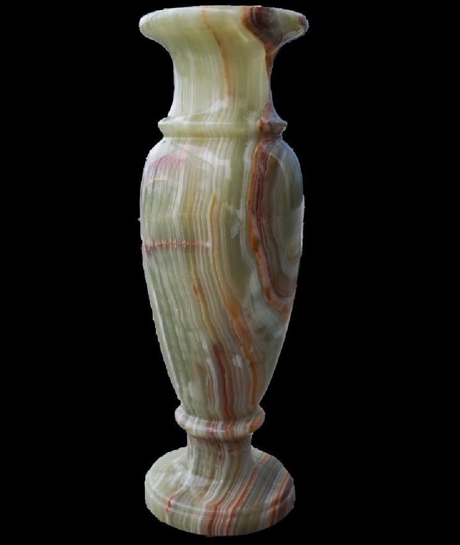 """15"""" tall Onyx Vase"""