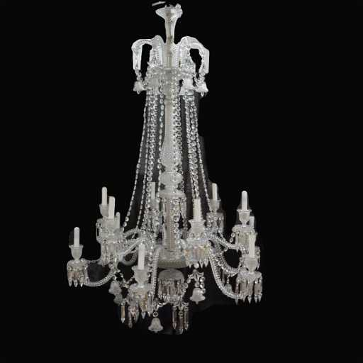 12 arm baccarat crystal chandelier aloadofball Images