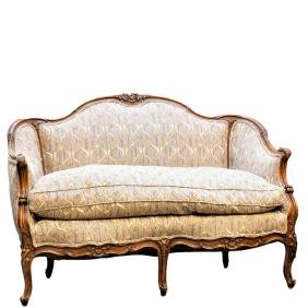 Antique French Walnut Love SeatLouis XVI Antique Furniture for Sale at Auction. Louis Xvi Style Furniture For Sale. Home Design Ideas