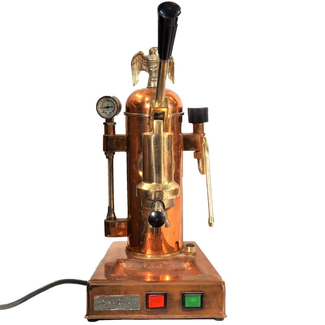 Riviera Espresso Copper Coffee Machine