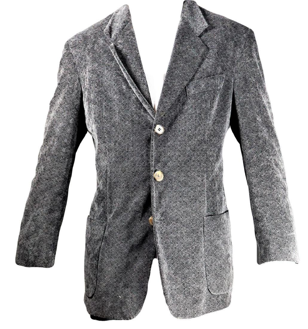 Giorgio Armani Cotton Crosshatched Sport Coat