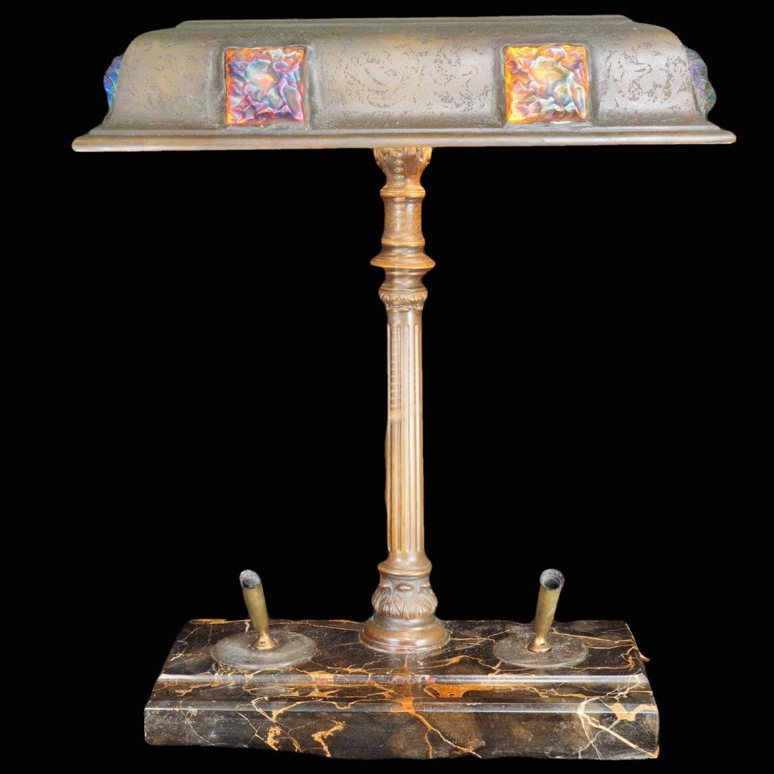Tiffany & Co. Bronze Desk Lamp
