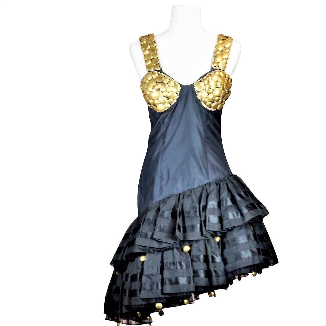 Original Gianni Versace Runway Atelier Black & Gold