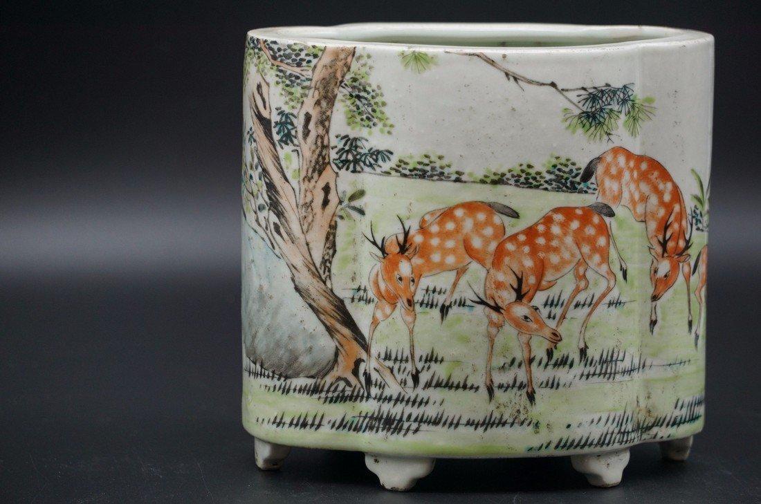 Chinese Ovoid Vase