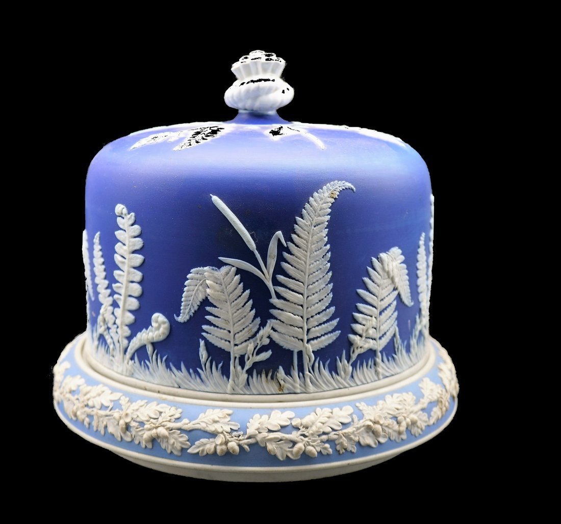 Antique Adams Tunstall Style Cheese Dome