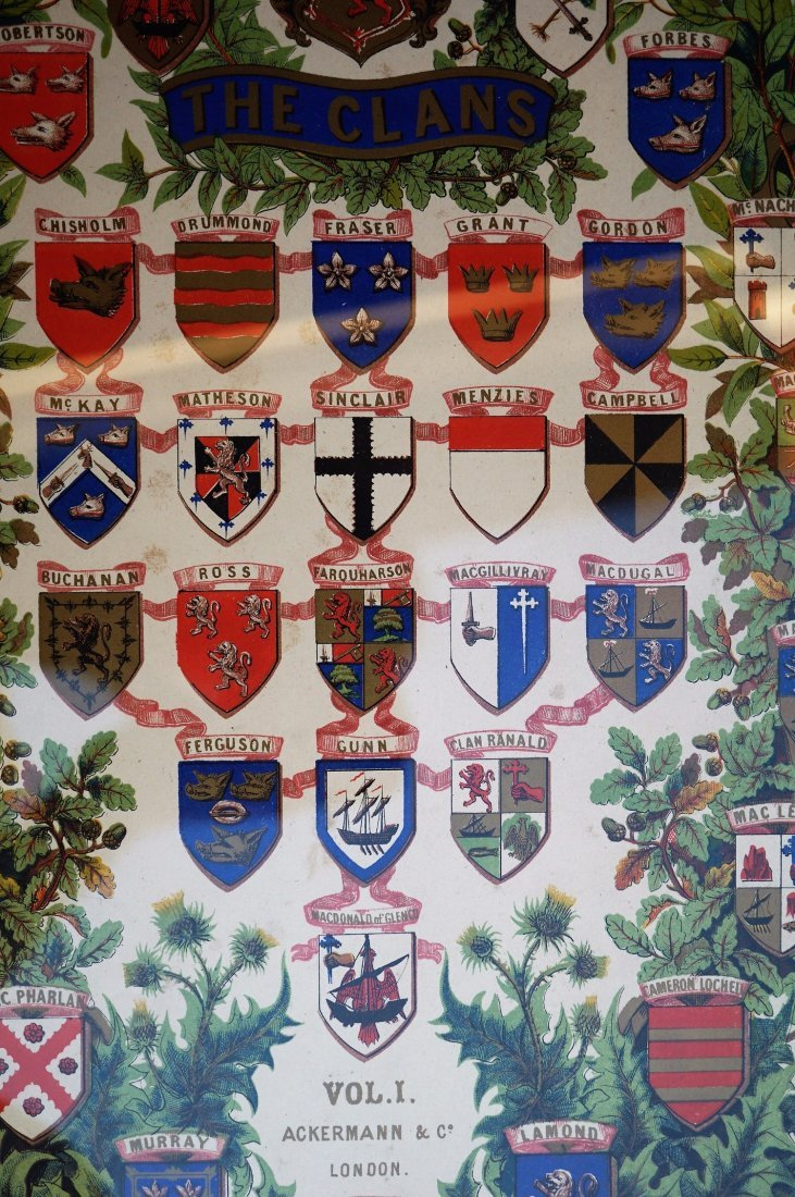 Family Crest Silk Screen