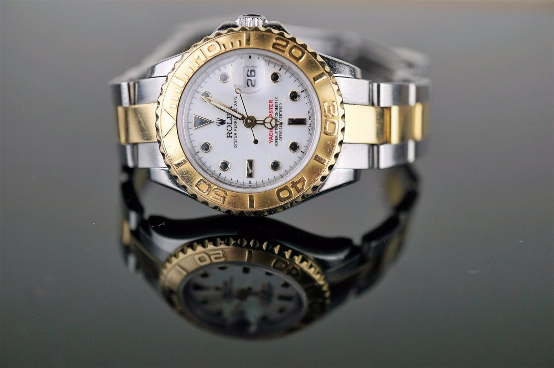 18k and Stainless Steel Ladies Yachtmaster