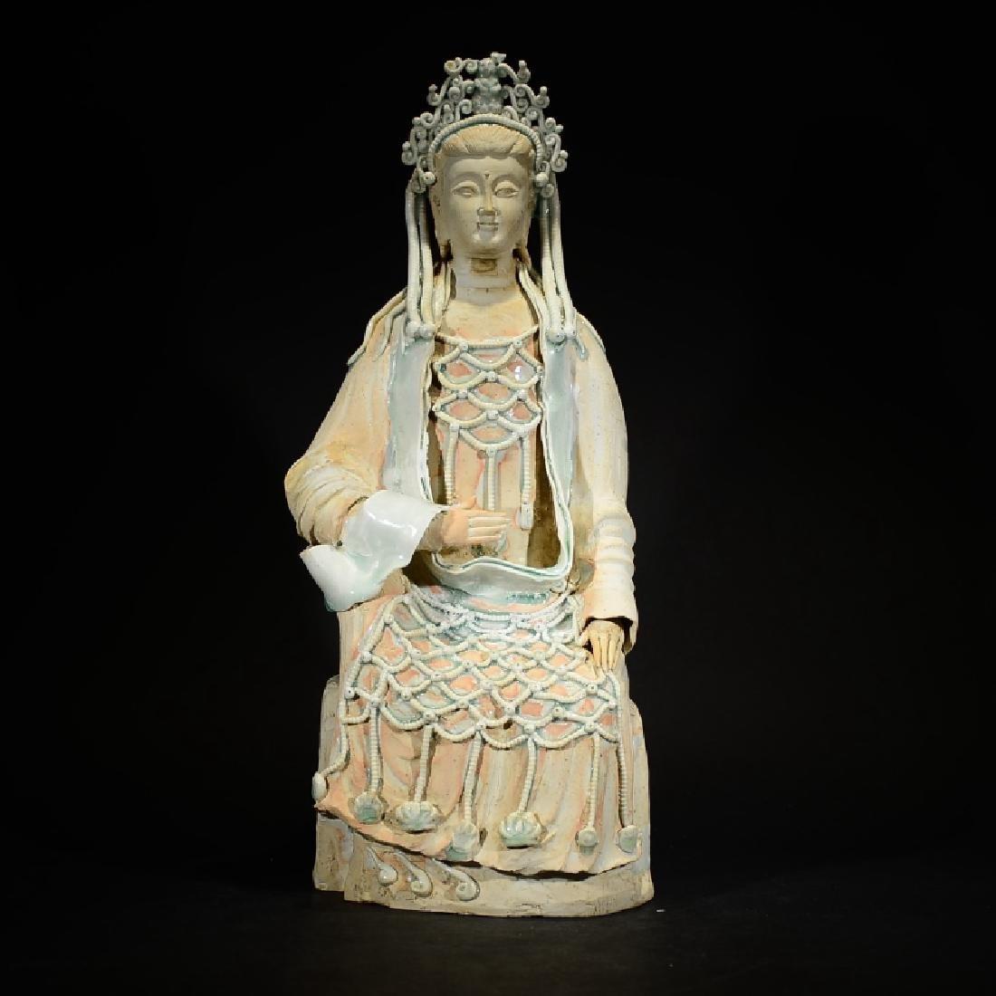 CHINESE SEATED BUDDHA