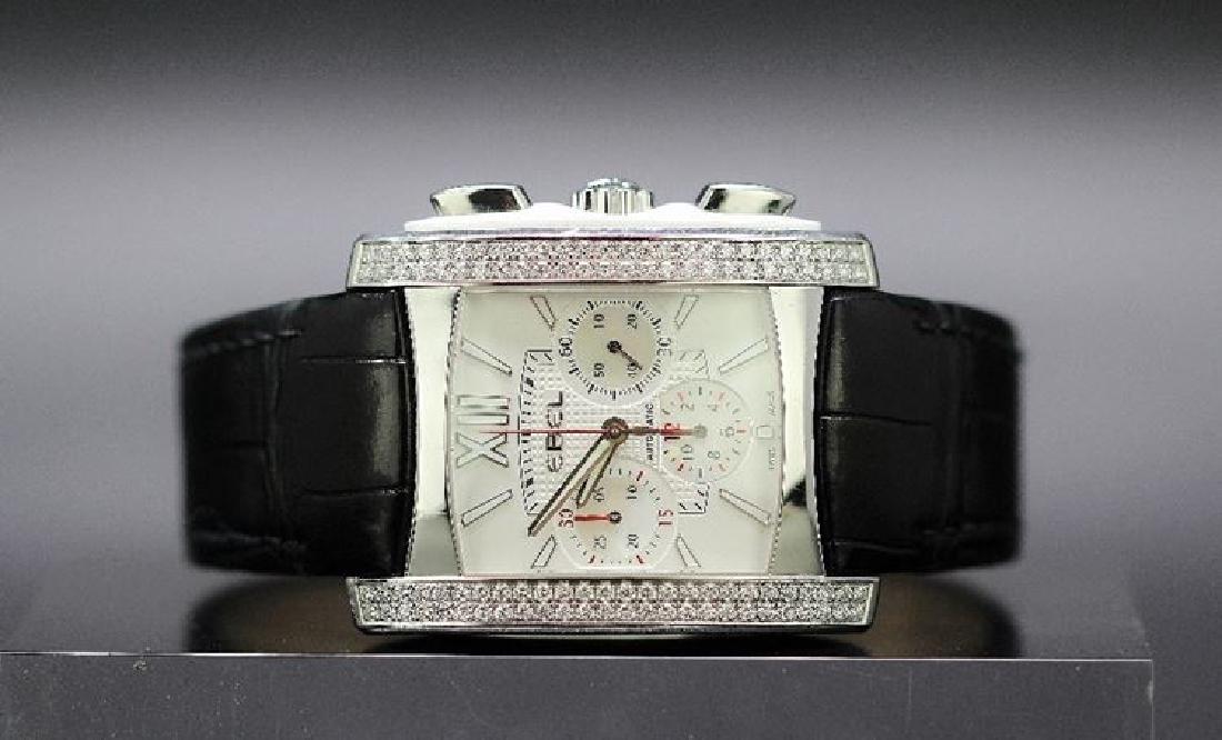 A gent`s Ebel Brasilia 104 diamond watch ref A137161,