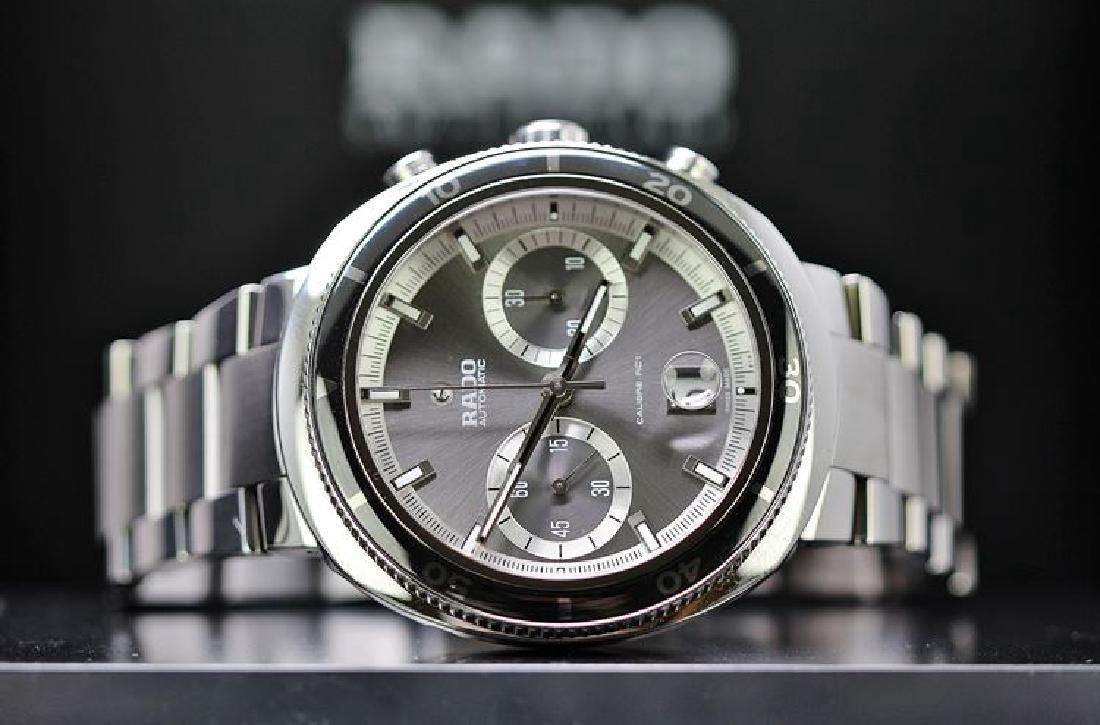 A gent`s Rado D Star 200M chronograph automatic big