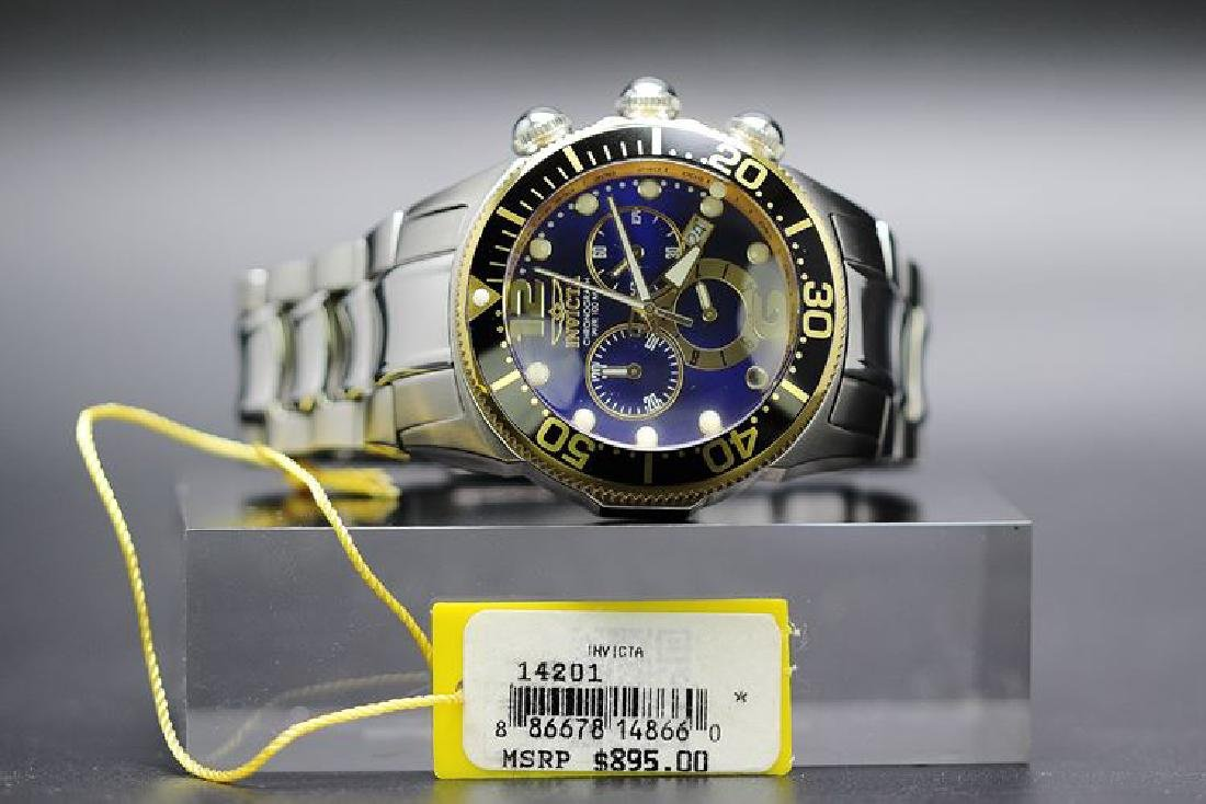 A gent`s Invicta 14201 Lupah Diver Chronograph watch