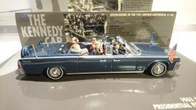 A 1:43 scale John Kennedy (JFK) Car model of the 1961