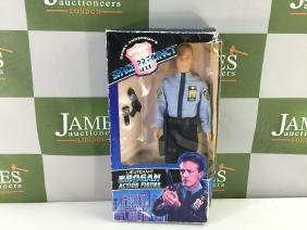 "Original vintage ""Space Precinct Brogan"" Action Figure"