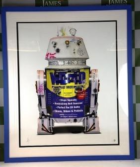 "Award winning artist JJ Adams - Ltd edition ""R2D2"" by"