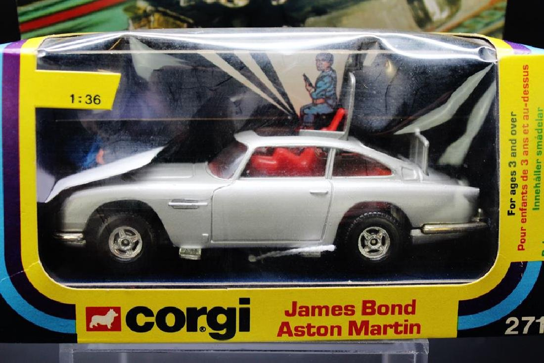 Corgi Toys James Bond Aston Martin model no.271, boxed,