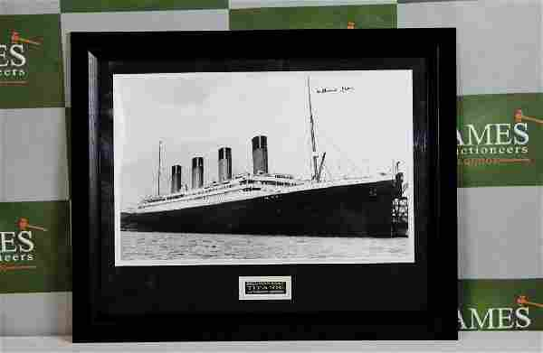 Survivor of the Titanic-Millvina Dean signed framed