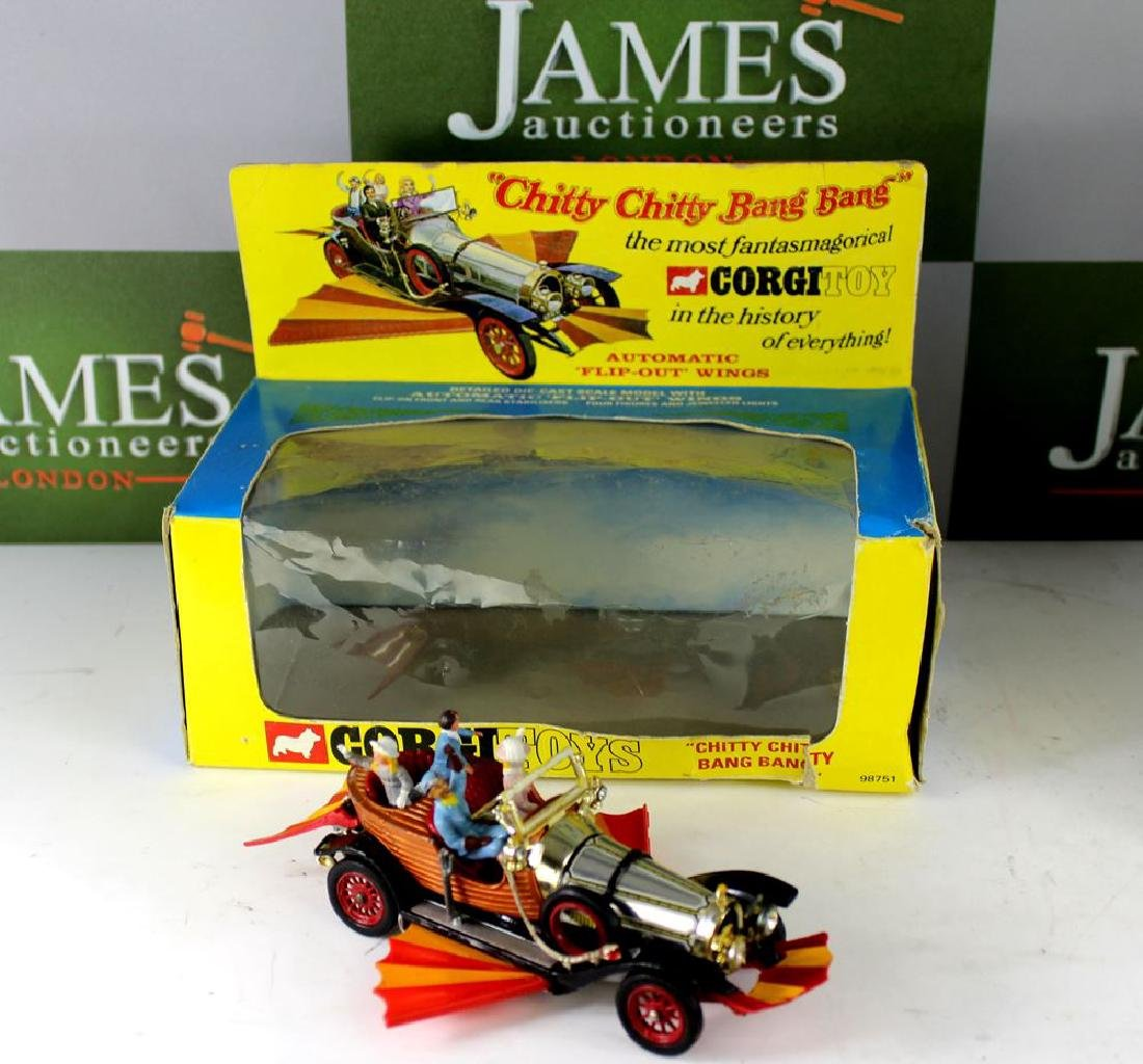 Corgi Toys diecast model no.266, Chitty Chitty Bang
