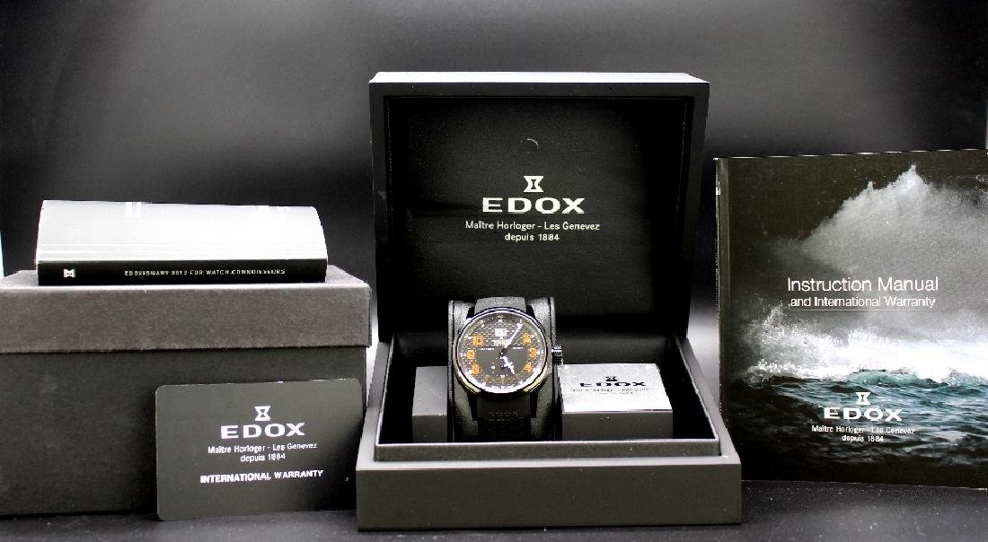 Edox World rally PVD edition, ref 64008,RRP £899 - 5