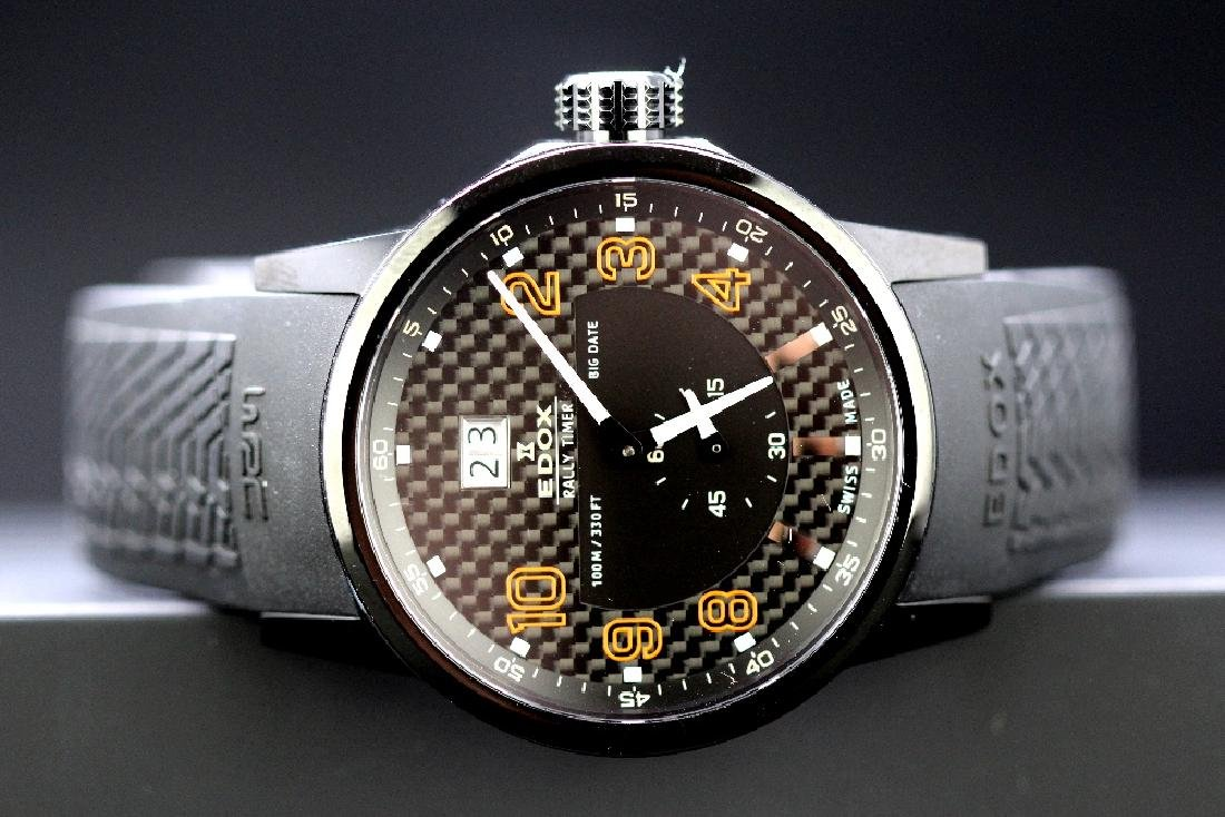 Edox World rally PVD edition, ref 64008,RRP £899 - 7