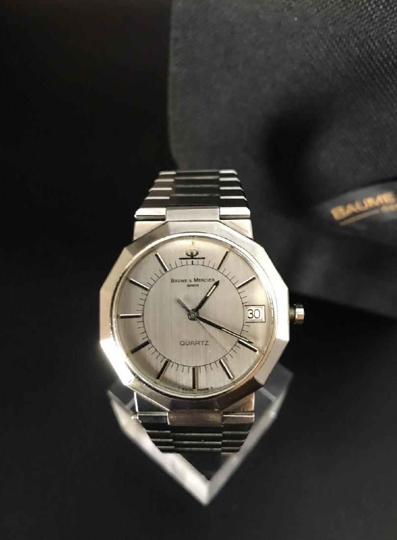 A gent's Baume & Mercier Riviera bracelet watch