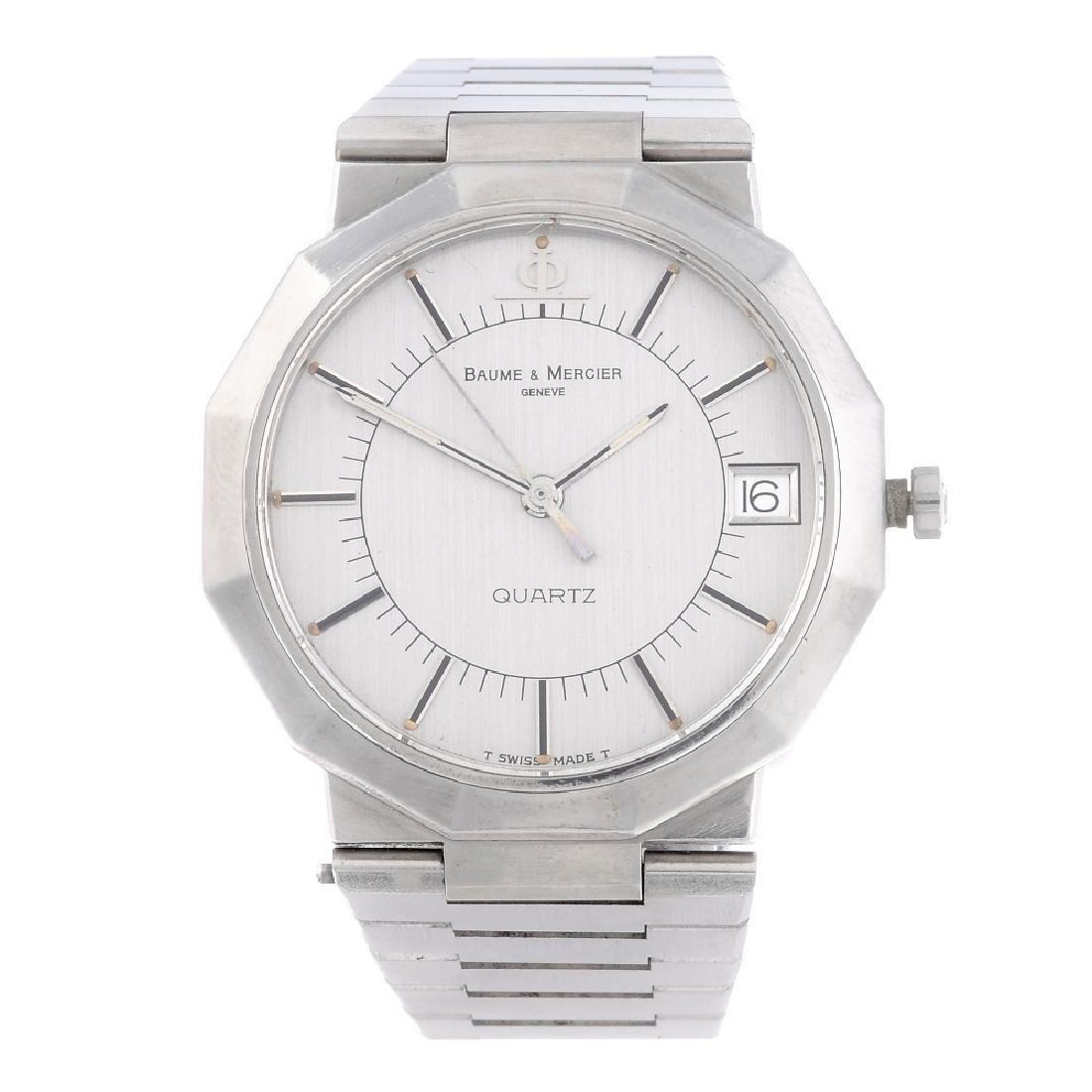 A gent's Baume & Mercier Riviera bracelet watch - 5