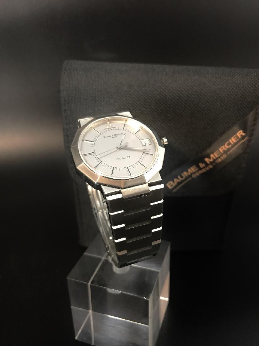 A gent's Baume & Mercier Riviera bracelet watch - 6