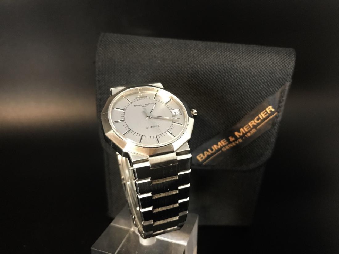 A gent's Baume & Mercier Riviera bracelet watch - 7