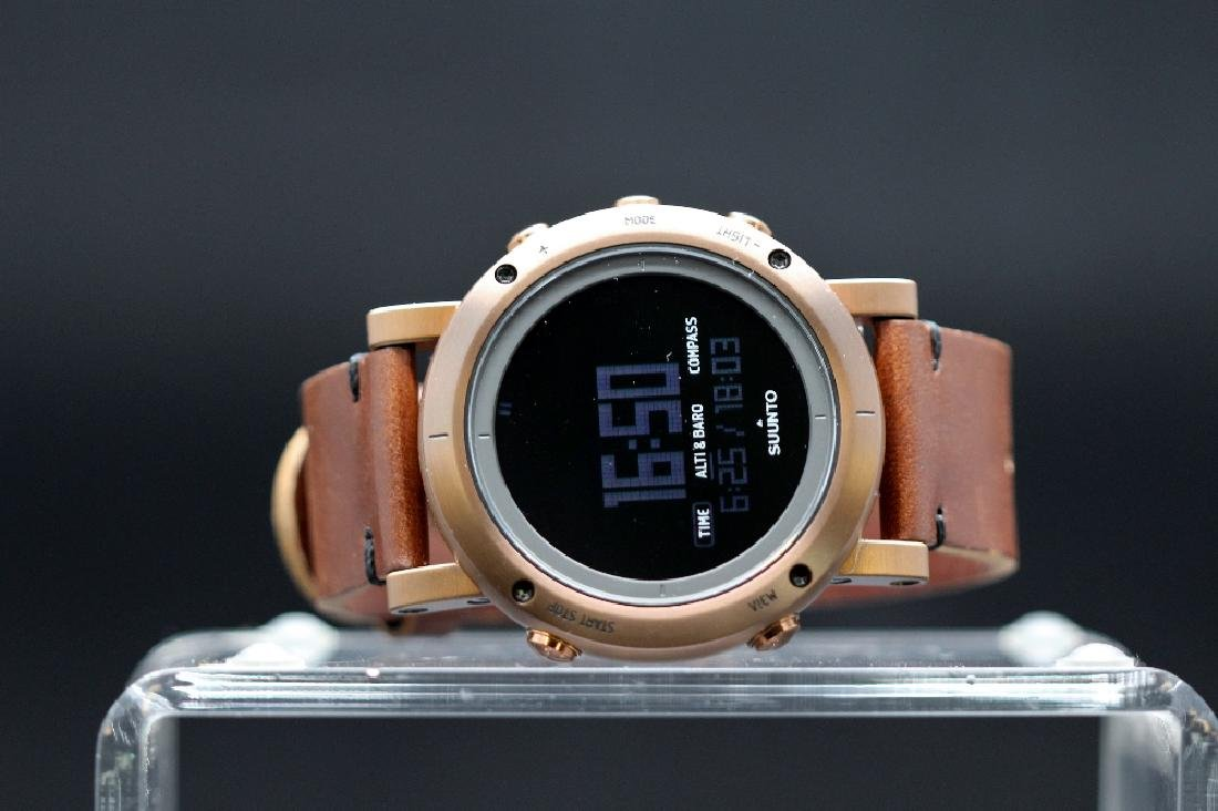 Suunto Copper Ltd Edition sports watch, RRP £649, box &