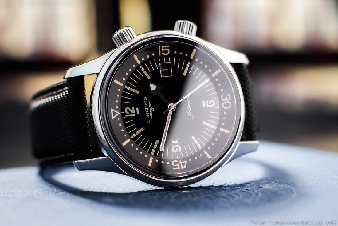 A gent`s 42mm Longine Diver classic re-edition, 2015