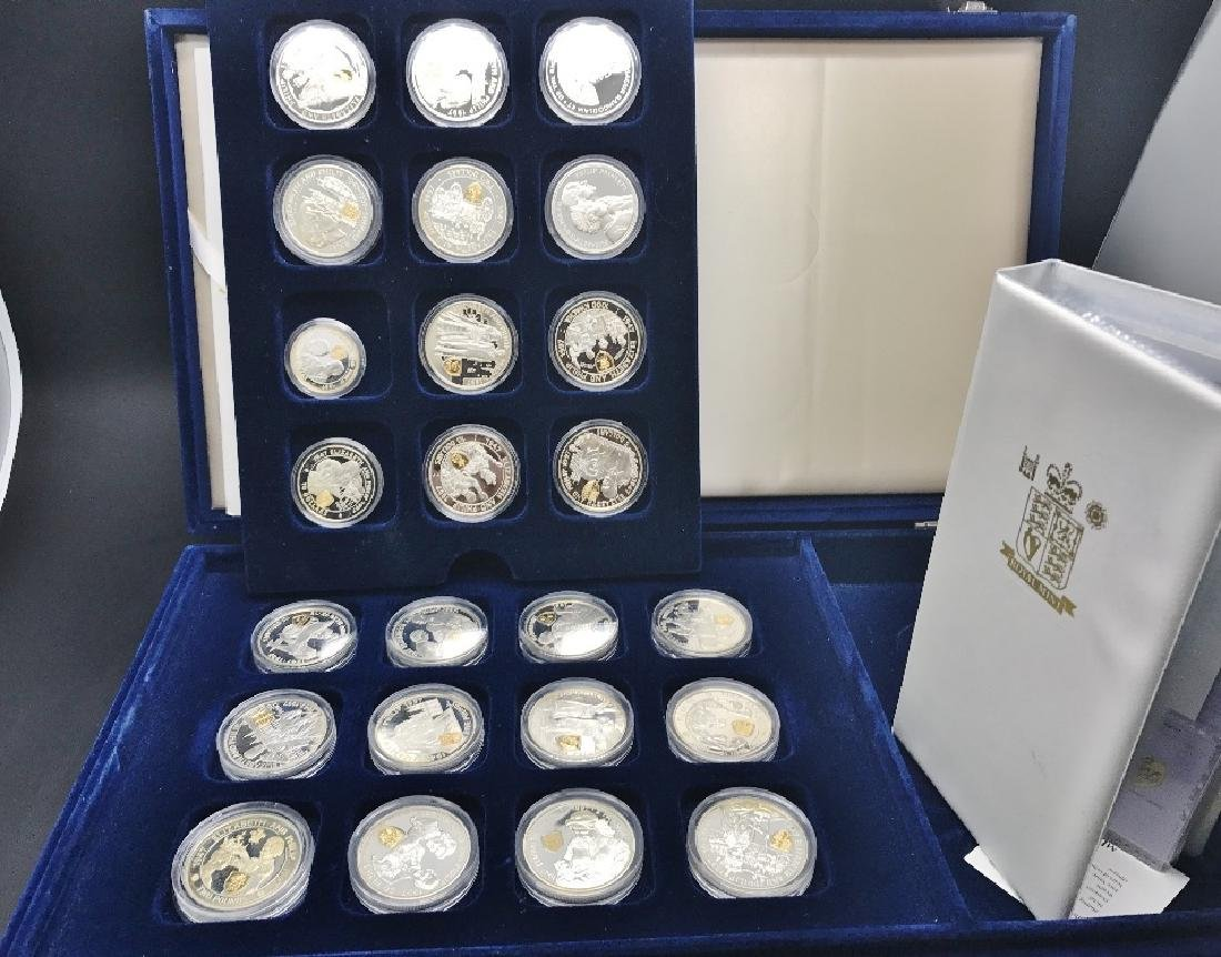 Royal Mint; QEII Golden Wedding Anniversary,