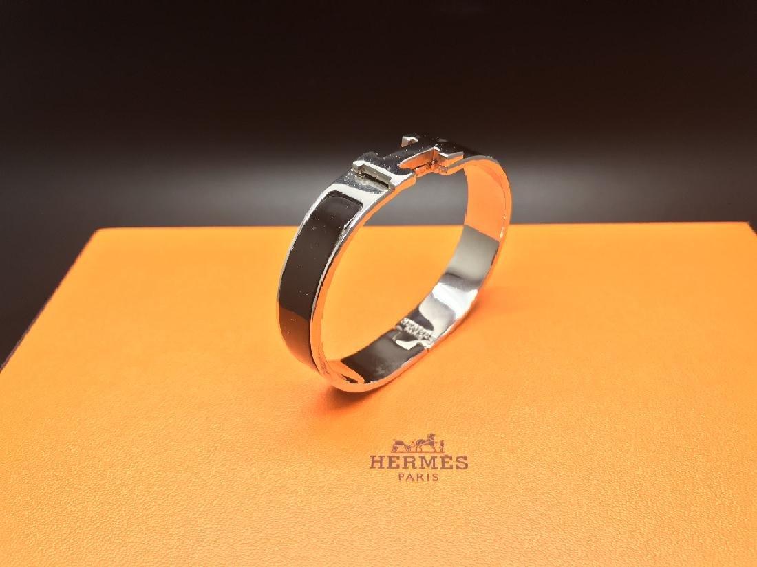 A Hermes Click Clack bracelet with box, RRP £399