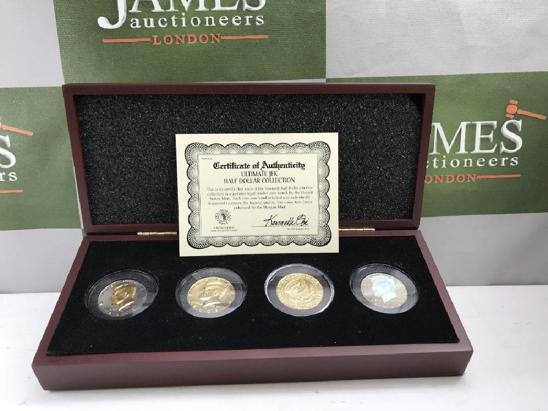 London Mint Westminster & Morgan Mint JFK half dollar