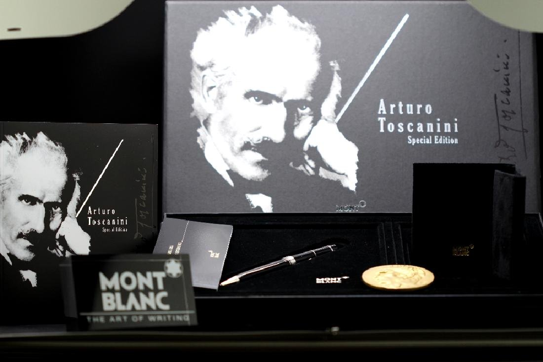Montblanc special edition Arturo Toscanini ballpoint