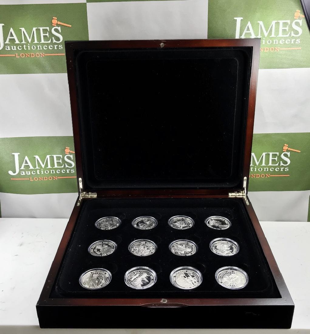 Boxed set of 12 x Trafalgar 200 year anniversary £5