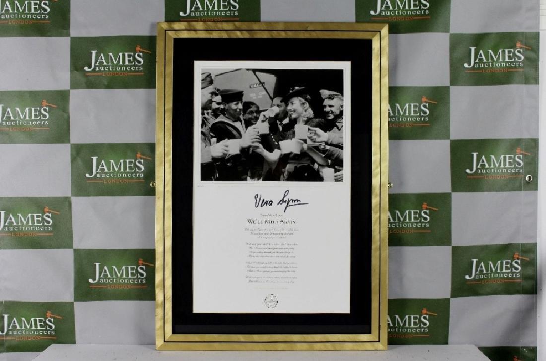 """A rare ltd edition Vera Lynn signed """"Well meet Again"""""""