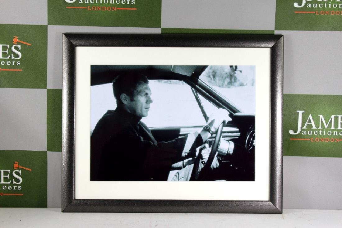 King of Cool Steve Mcqueen Ltd Edition Print From Hall