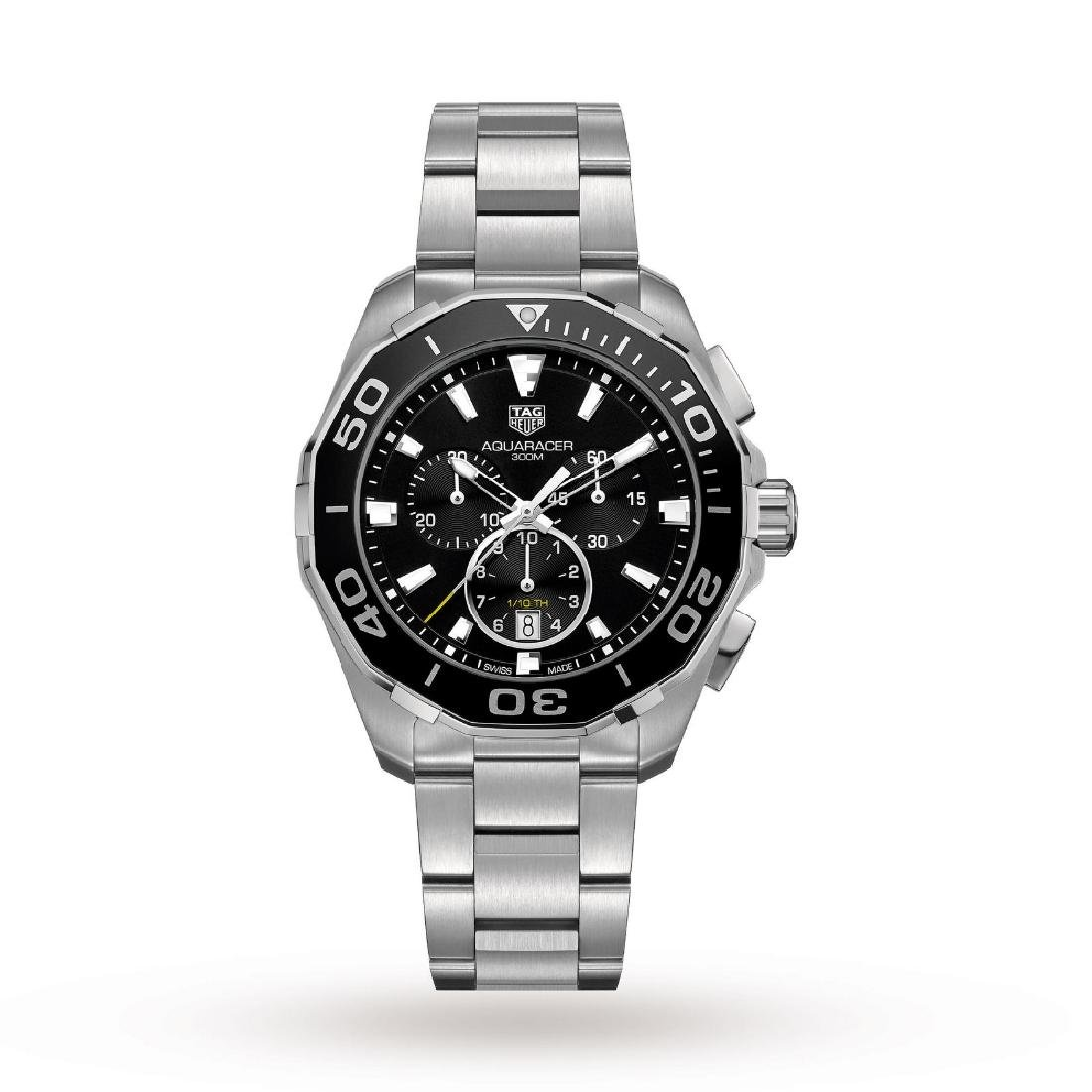 2015 model-TAG HEUER Aquaracer Grande Date Chronograph