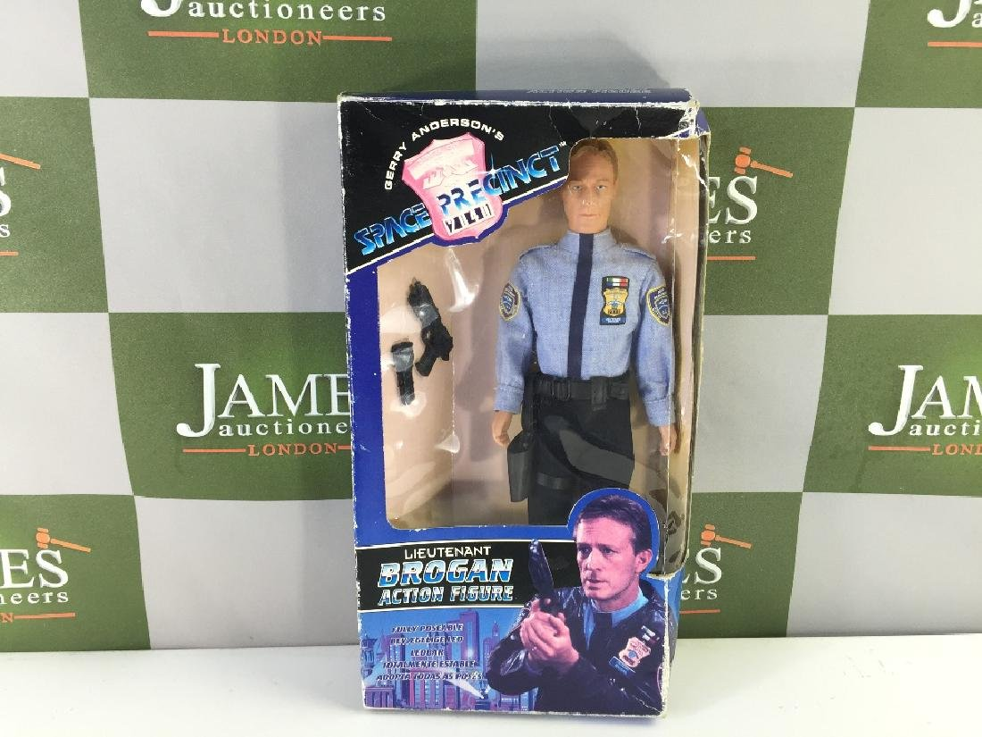 "Original vintage ""Space Precinct - Brogan"" Action"