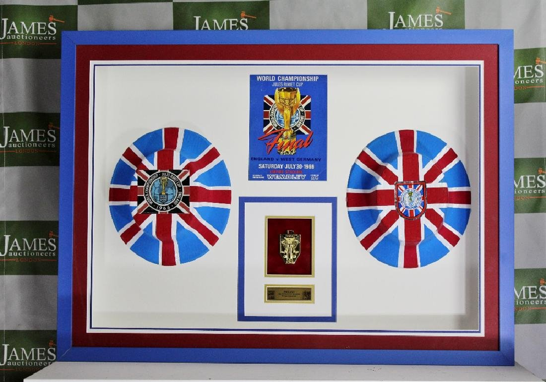 A stunning England world cup 1966 original collection