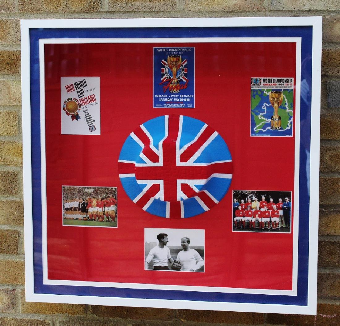 A stunning England world cup 1966 original collection