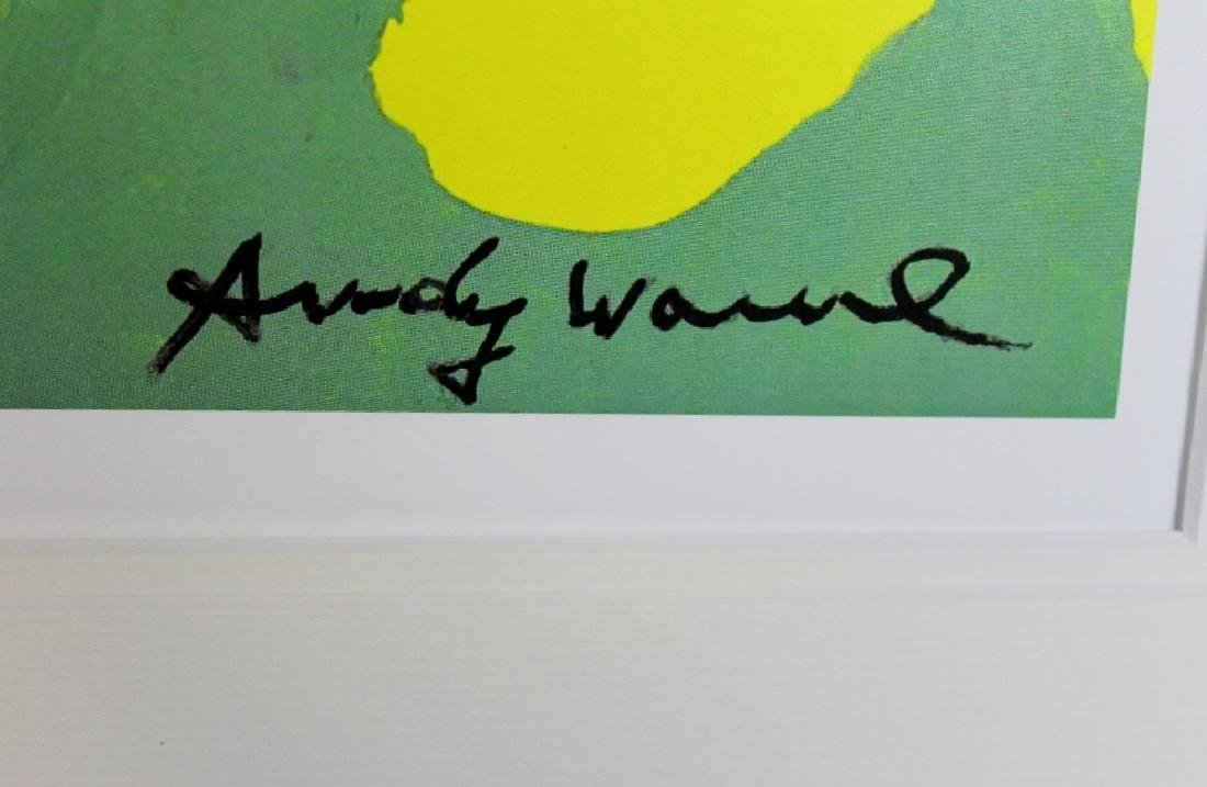"Andy Warhol ""The Beatles"" plate signed & numbered - 4"