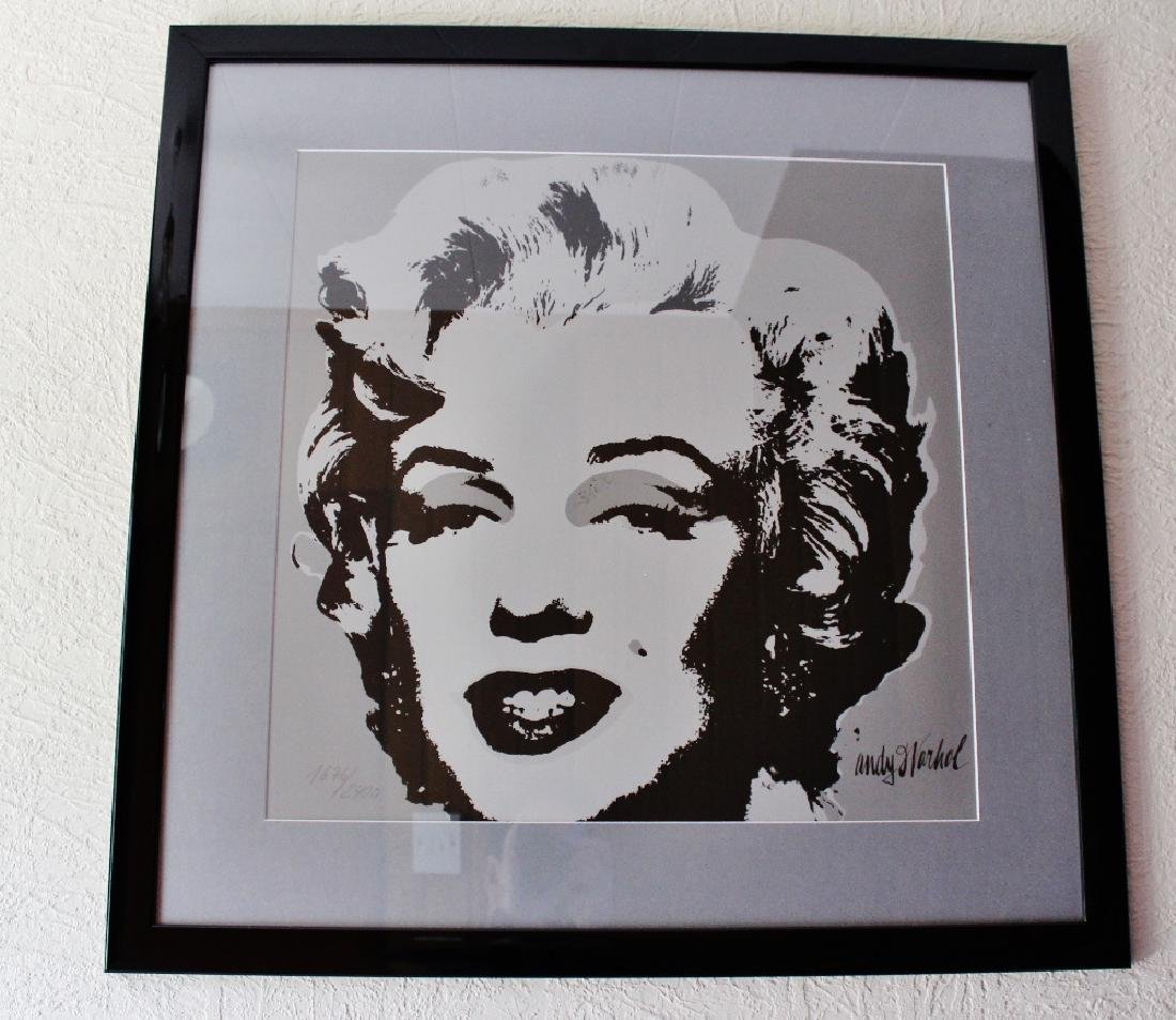 A very large Andy Warhol 1987 Marilyn Monroe