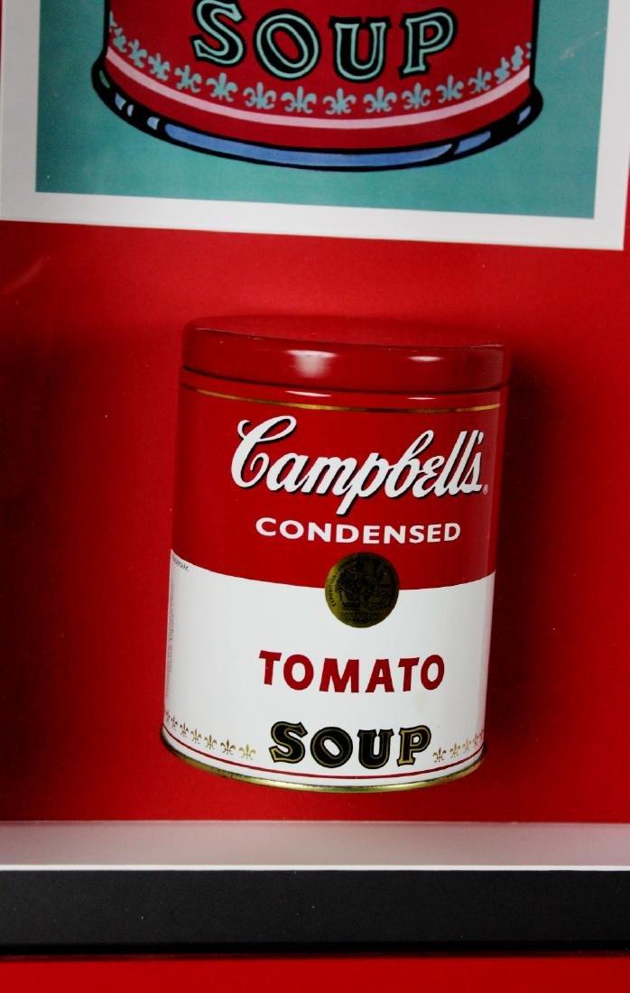 Andy Warhol -an original 1960`s Campbells soup tin in - 2