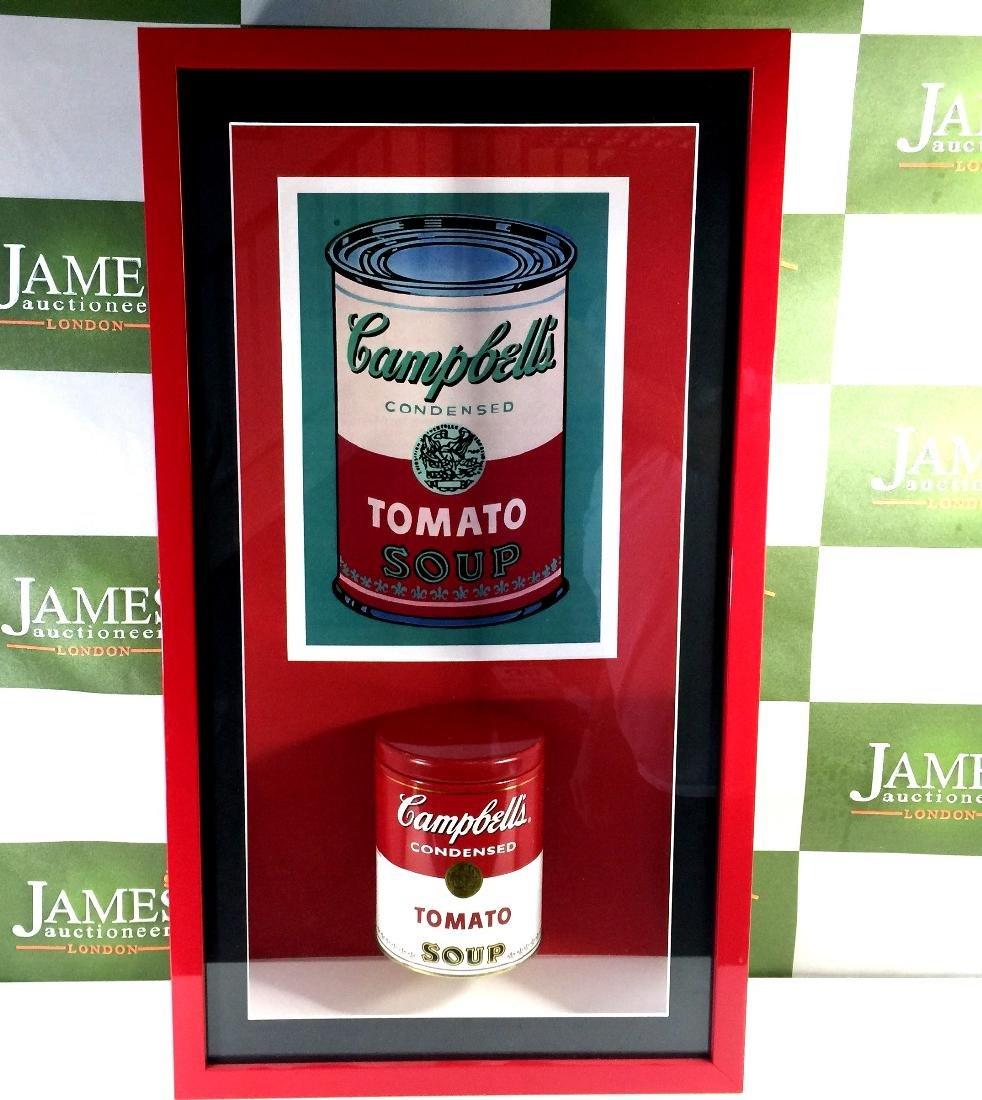 Andy Warhol -an original 1960`s Campbells soup tin in - 3