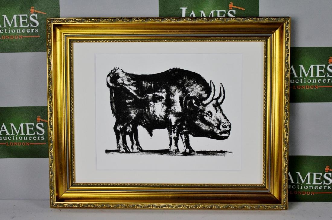 "Pablo Picasso -La Taureau-""The Bull"" Ltd Edition, 1986"