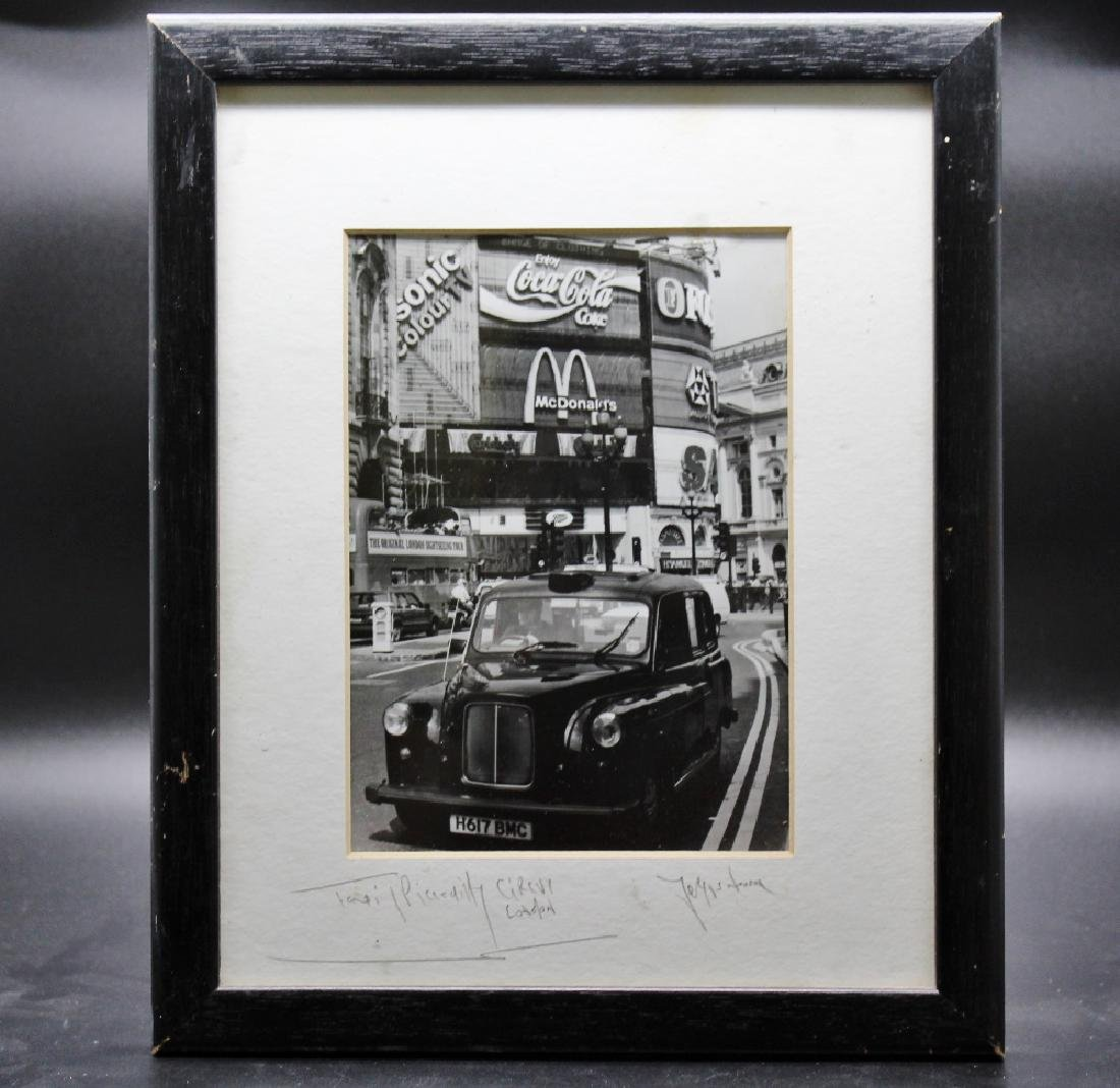 A Fergus Noone(celebrated photographer) signed and