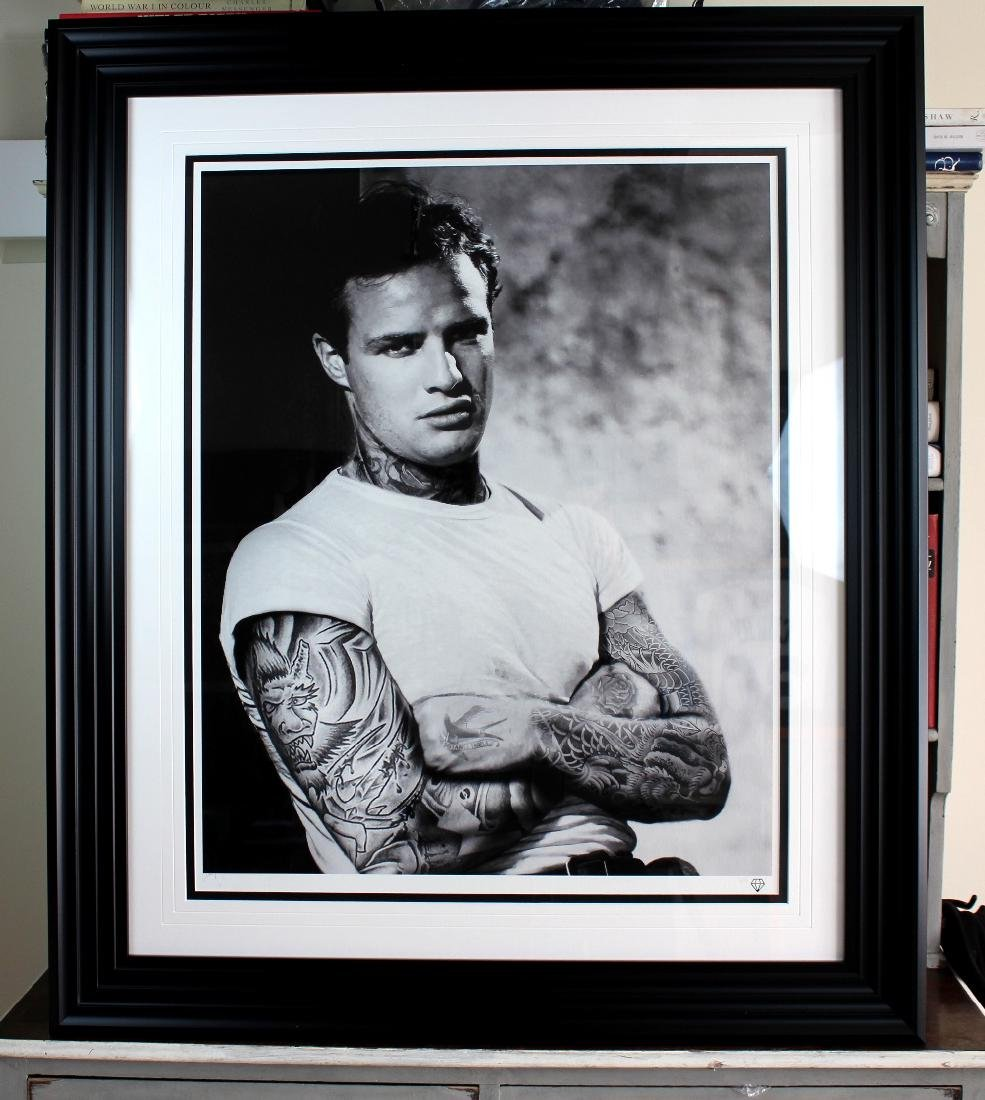 "Award winning artist JJ Adams - Ltd edition ""Marlon"