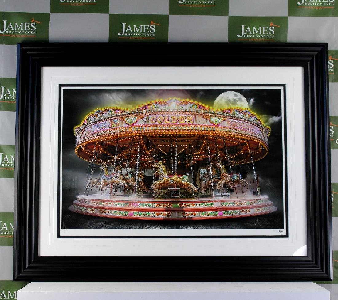 "Award winning artist JJ Adams - Ltd edition ""Carousel"","